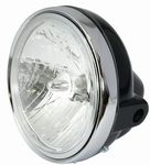 7 inch round headlight unit - choice of colours